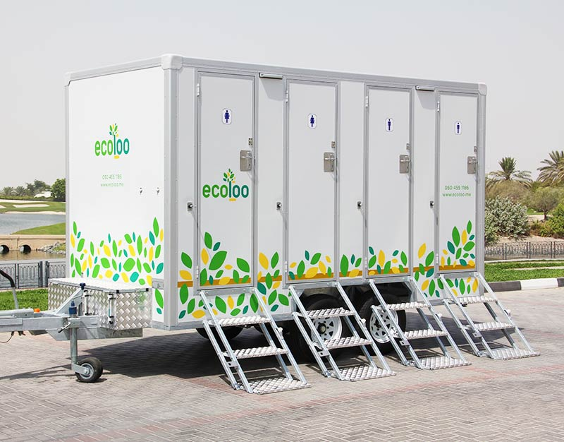 ecoloo 4 pax vip mobile toilet